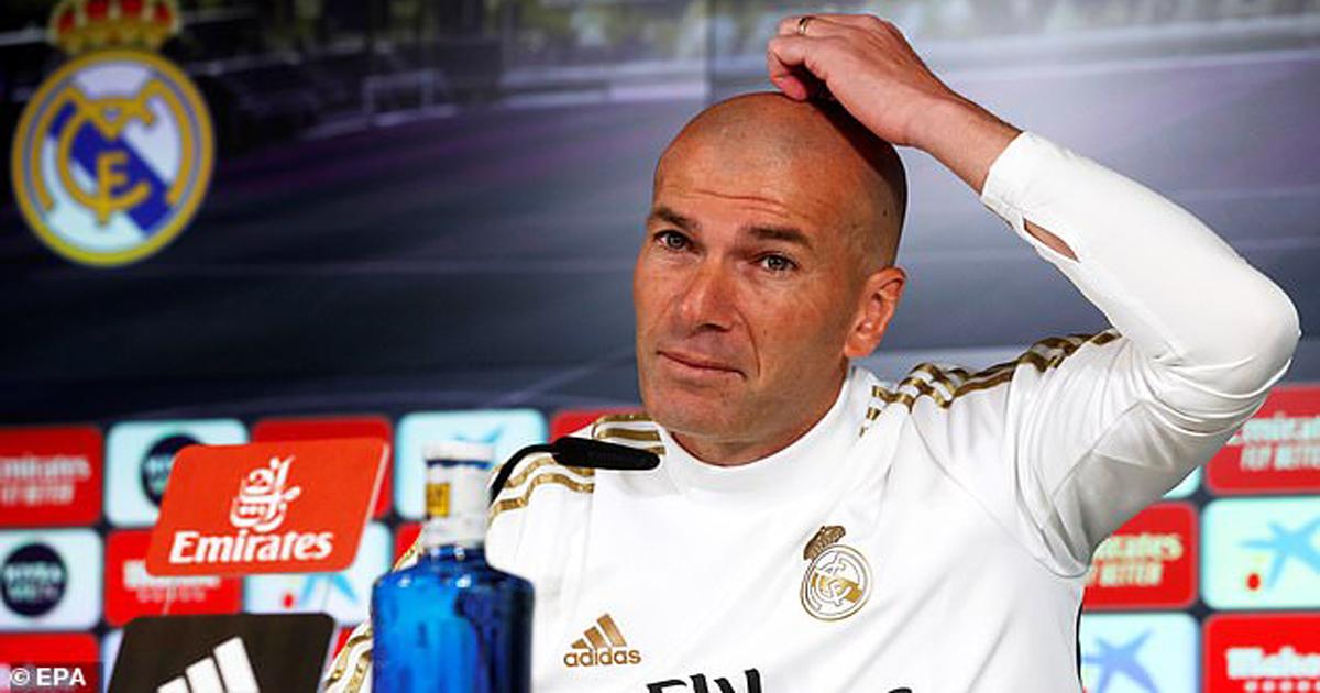 លោក Zidane ឈឺក្បាលខ្ទោកៗក្រោយខ្សែប្រយុទ្ធ២រូបអវត្តមានក្នុងពាន Spanish Supercopa នៅអារ៉ាប៊ីសាអូឌីត