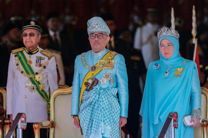 Kuala,Lumpur,,Malaysia, ,January,31,,2019.,Malaysia's,King,,Sultan