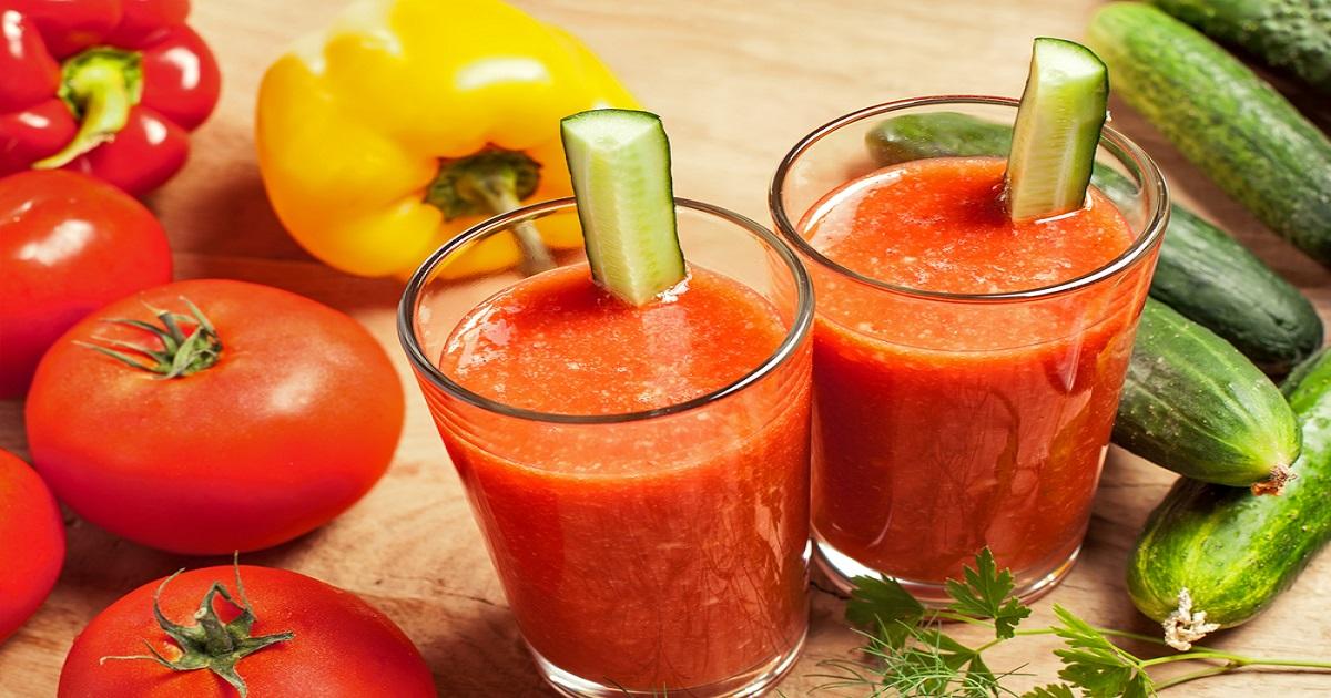 Tomato Leek And Cucumber Juice