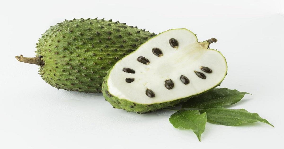Graviola Fruit Cut Open
